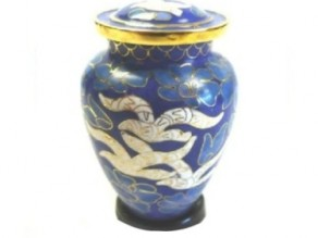 Going Home Cloisonne Sharing Urn